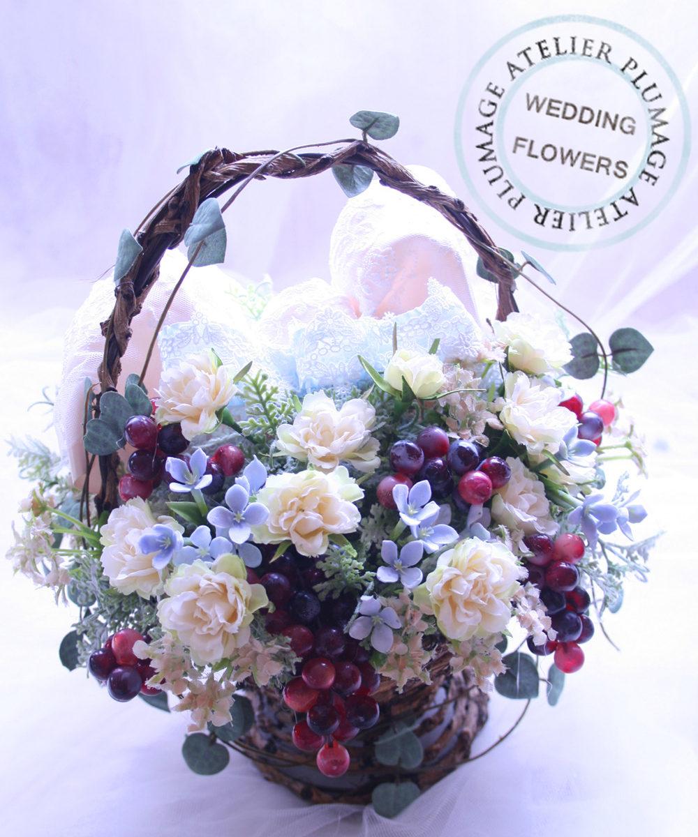 軽井沢・海外挙式持込ブーケアーティフィシャルフラワーブーケ注文ブーケオーダー東京