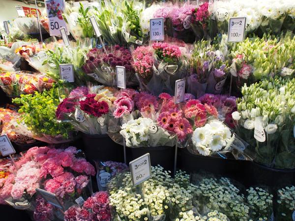 ノルウェーの花屋