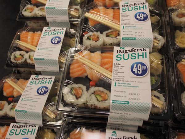 オスロの寿司