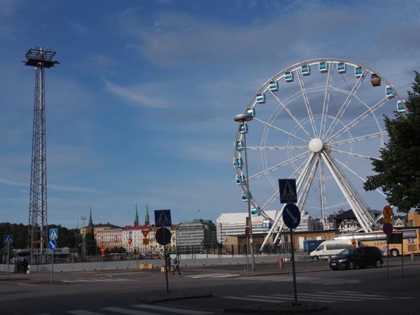 ヘルシンキの観覧車
