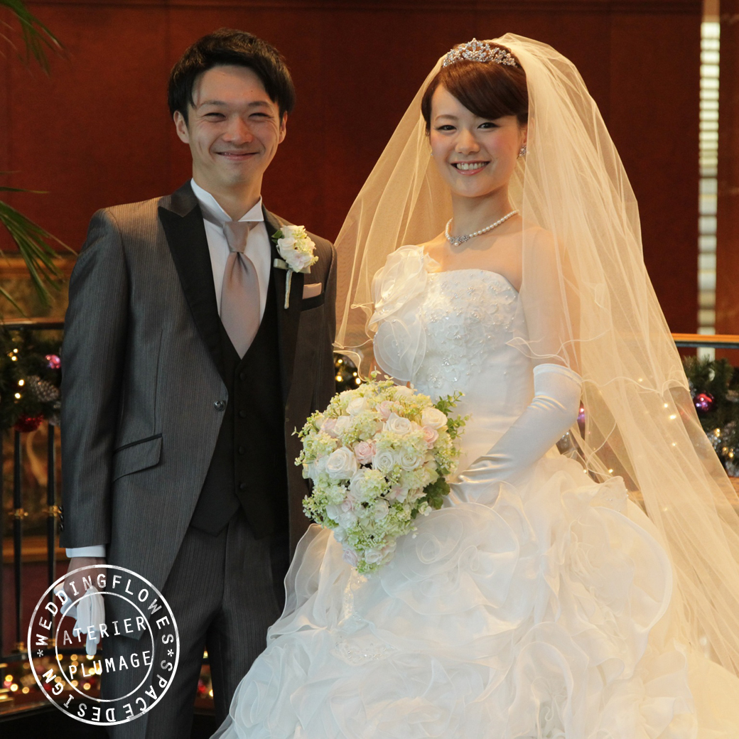 ウェスティンホテル東京ブーケ納品実例写真
