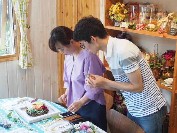 結婚式両親贈呈手作りギフトレッスン