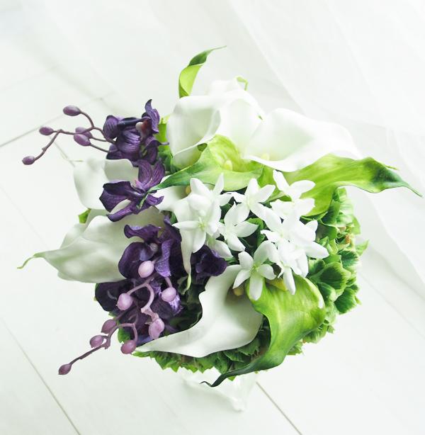 軽井沢石の教会納品ブーケ