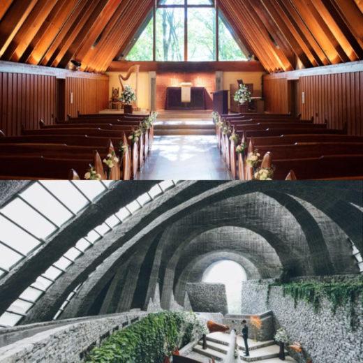 軽井沢高原教会・軽井沢石の教会